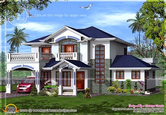 Villa design Kerala