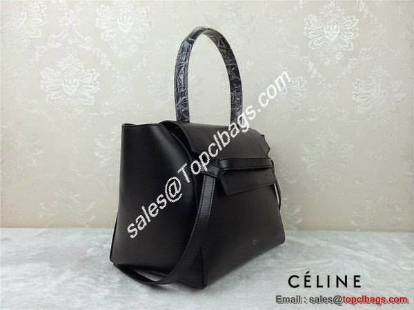 0ec4bddcb2 Celine mini Belt Bag Original Leather C98311 Black