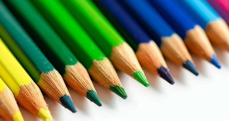 Pensamiento de diseño y colores