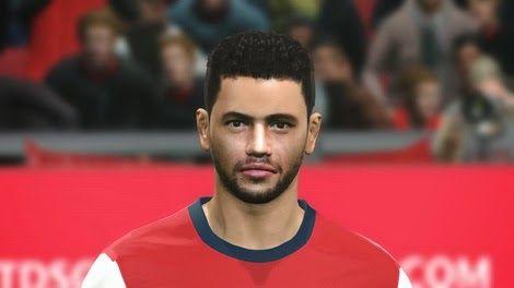 PES 2014 Diego Muhammad Face by zimon