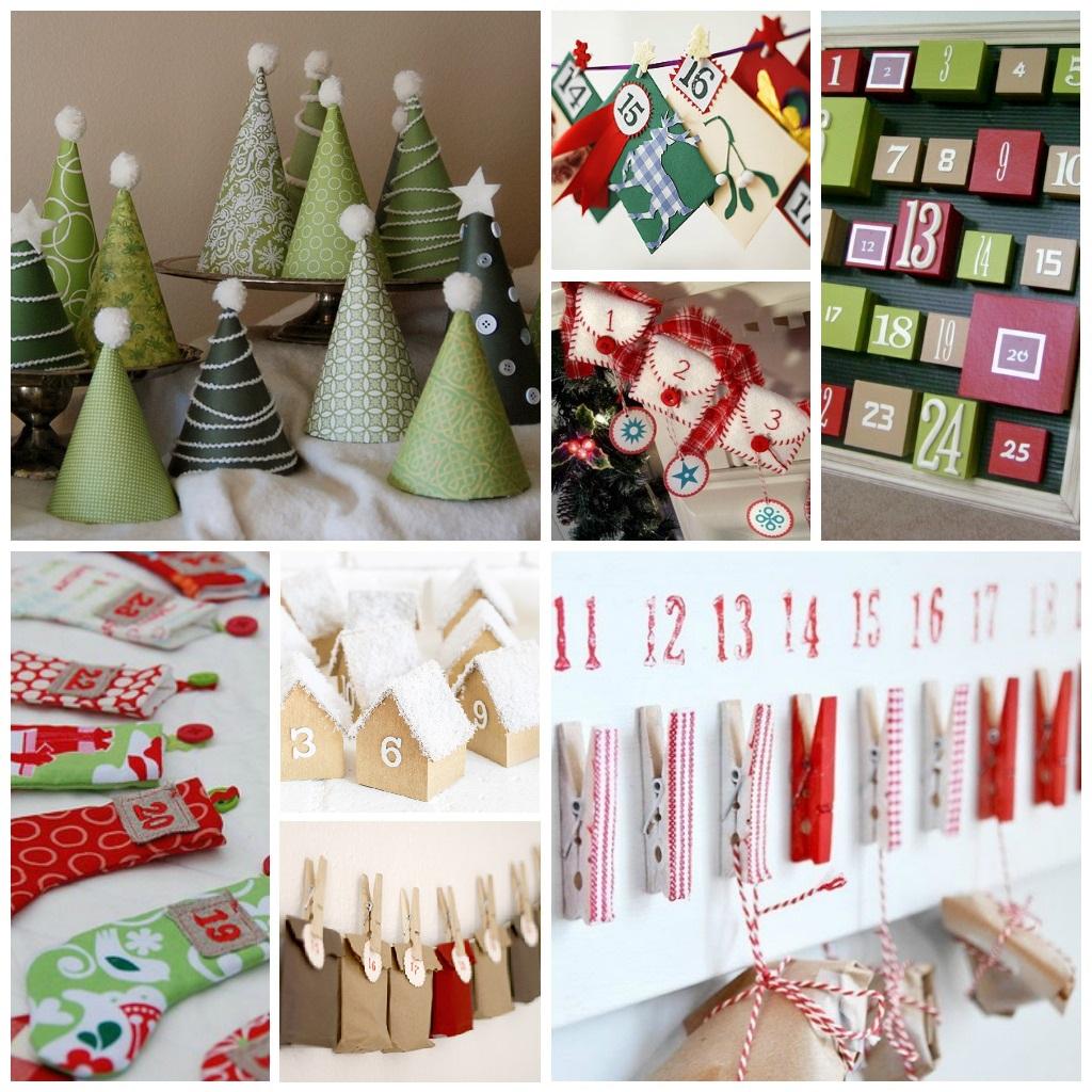 Navidad 2015 Nuestro calendario de Adviento DIY La agenda de mam