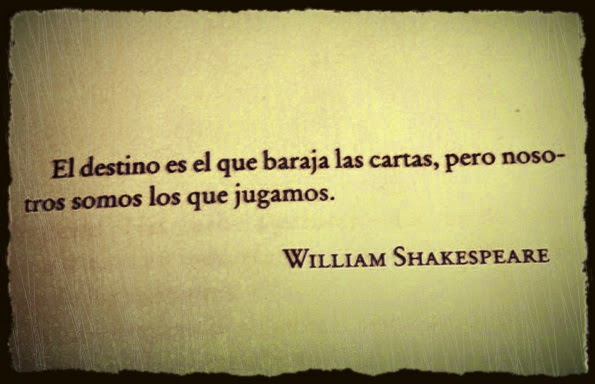 shakespeare cartas destino