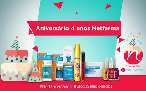 Aniversário Netfarma: Promoções e Cupom Desconto.