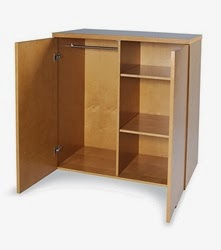 Mayline Luminary Series Wardrobe Cabinet