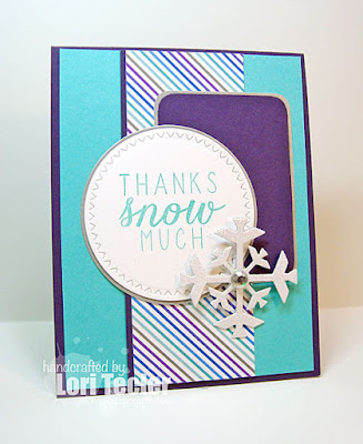 Thanks Snow Much card-designed by Lori Tecler/Inking Aloud-stamps from Reverse Confetti