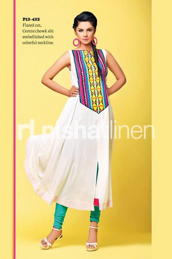 Latest Linen Shirts Designs   Nishat Linen Neon Range Collection 2013 2014 Latest Neon Pret