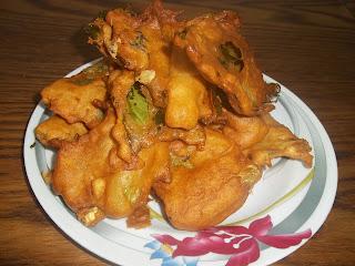 Cauliflower Leaf Pakoras Recipe Indian Style Fritters Gluten Free And Regular Penniless Parenting