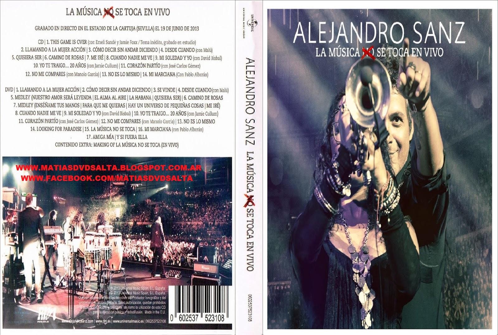 Alejandro Sanz - La Música No Se Toca (En Vivo)