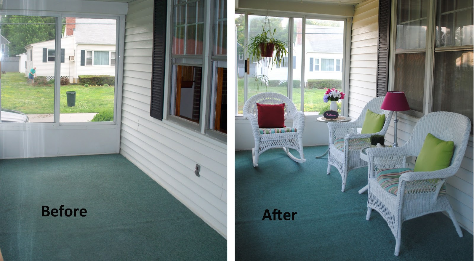 One Day At A Time Front Porch Makeover 1