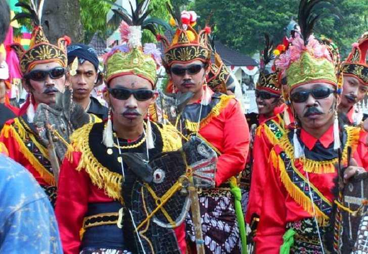 Tarian Incling Kulonprogo Jawa Tengah