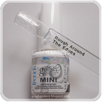 Gelish Trends Swatch: Rough Around The Edges