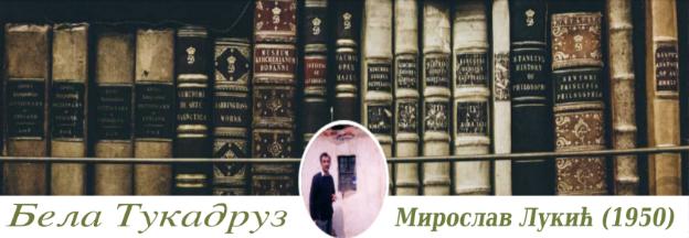 Посебна страница МИРОСЛАВ ЛУКИЋ