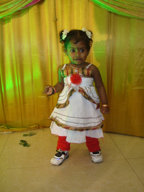 My Friend Udaya's Daughter Kanishka 5