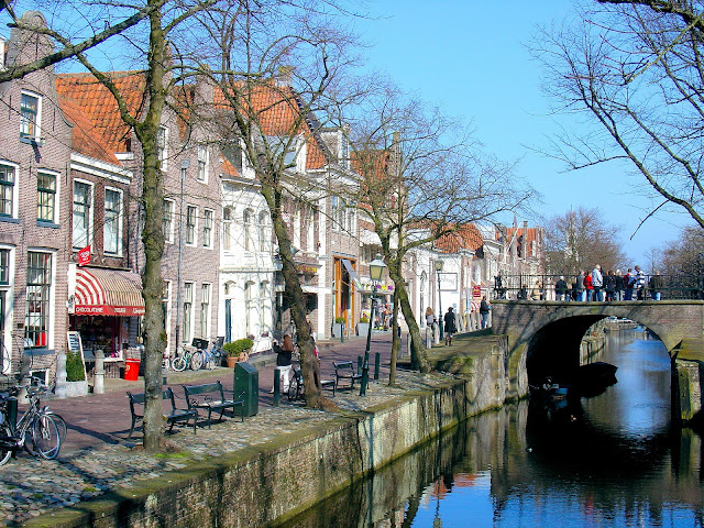 Imagine cycling through Edam in the Netherlands. Photo: EuroTravelogue™.