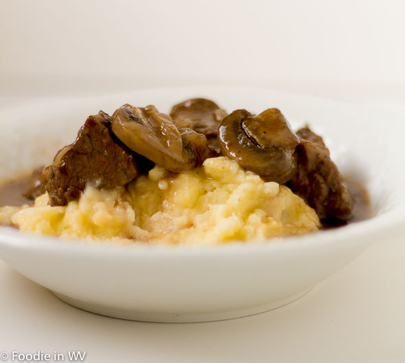 Beef and Mushroom Braised Stew