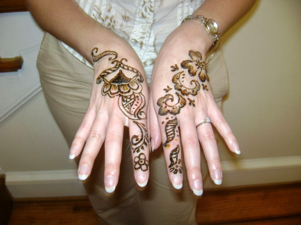 Beautiful Mehndi Hands Pics : Beautiful latest simple arabic pakistani indian bridal