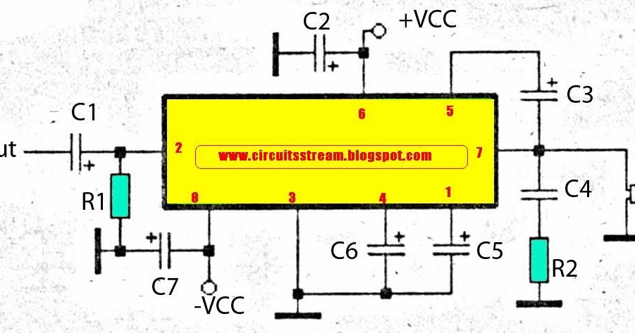 Various Diagram  Simple Subwoofer Amplifier Wiring Diagram