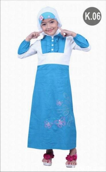 Desain Baju Gamis Anak Modern 2013 2014 Xarzo