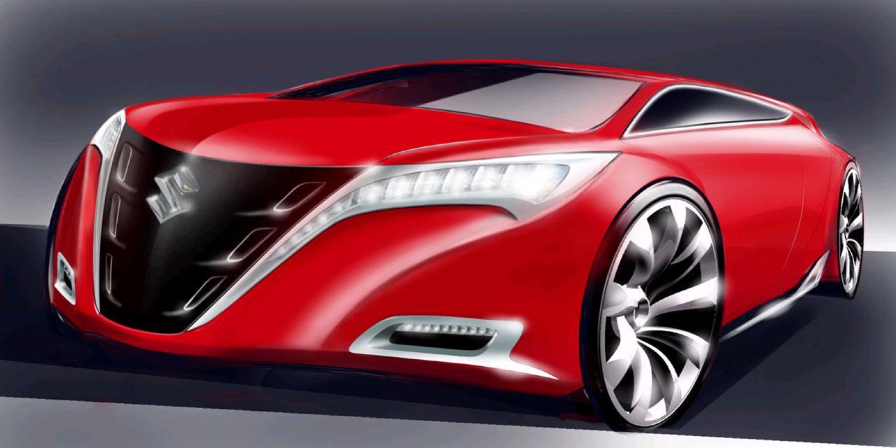 Bmw I8 Concept Suzuki Kizashi Concept 2011