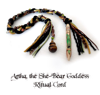 Artha, the She Bear Goddess Ritual Cord