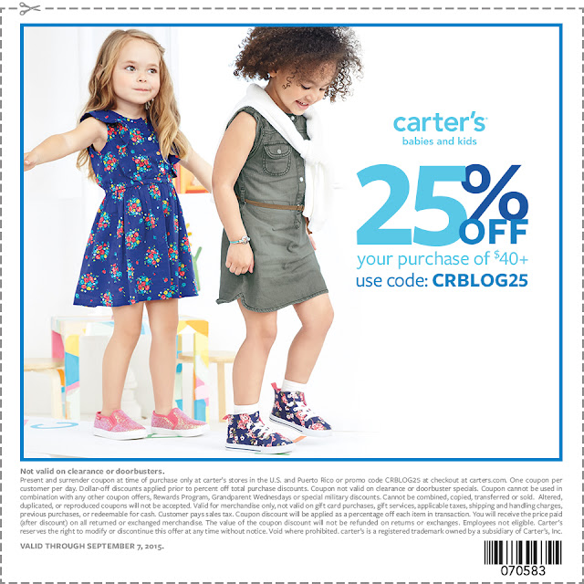 #CountMeInCarters, Kids Fashion, Modern, cute, back to school kids clothes, carters sale, carters back to school coupon 2015