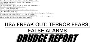 Obama Gives Up the Fake Hope and Change Act ... And Adopts the Neocon FEAR Playbook Drudge