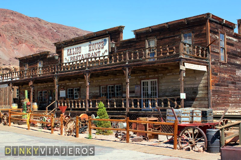 Calico Ghost Town. Restaurante
