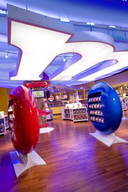 m&m World candies