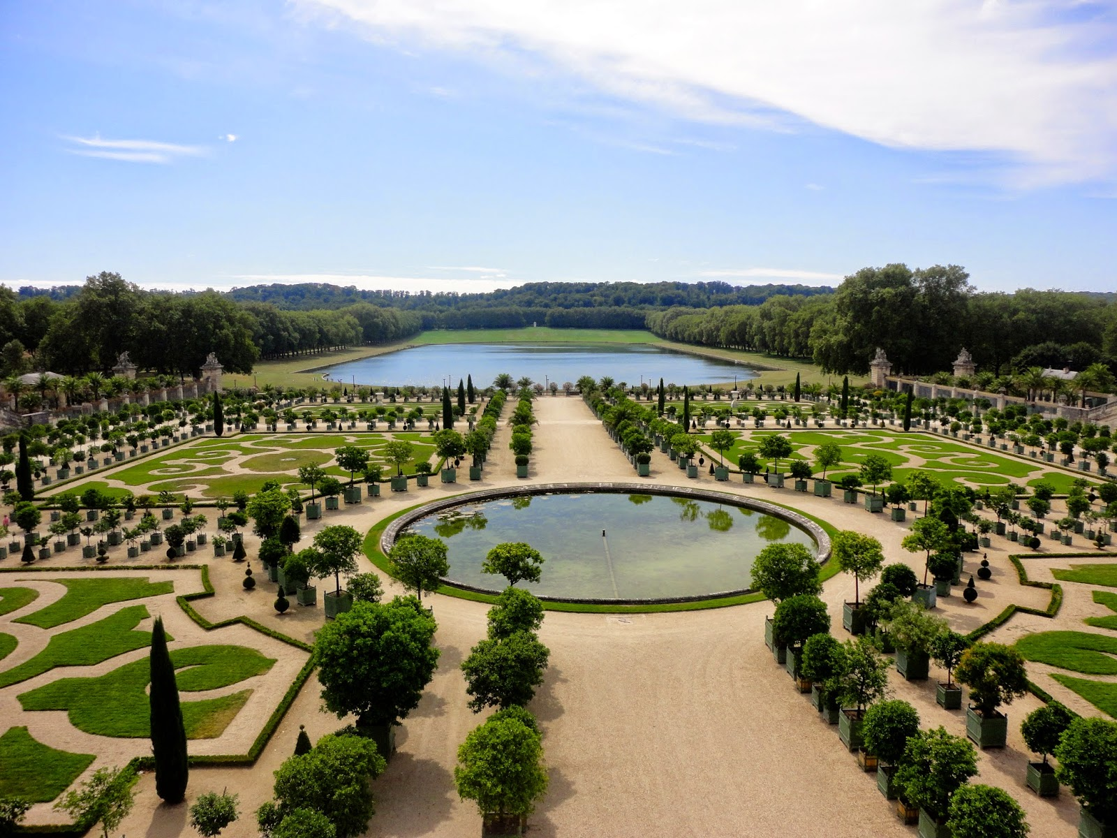 Gardens at the Chateau de Versailles, Paris