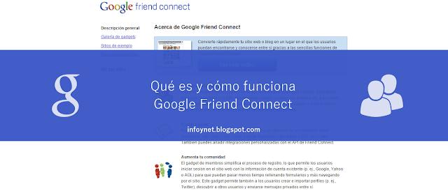 Qué es y cómo funciona Google Friend Connect