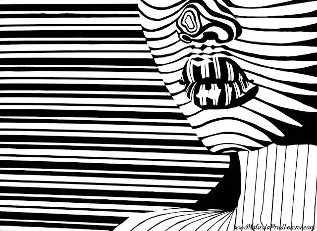 Line Art Artists : Malinda prud homme a mixed media artist s quot life