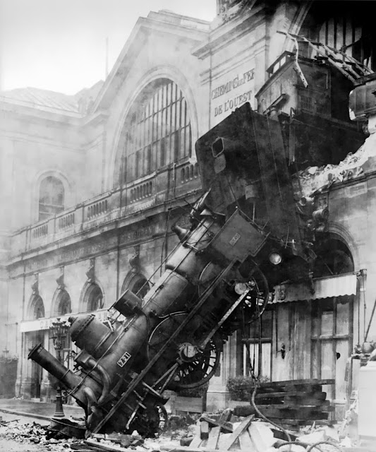 Accidente de tren en Montparnasse (1895)