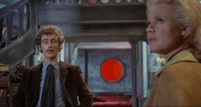 Dean Stockwell and Sandra Dee in The Dunwich Horror