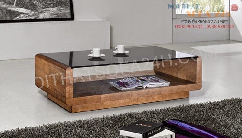 Bàn sofa gỗ BS094