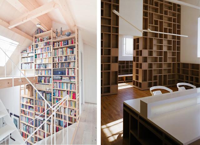 Estanter as de madera espacios en madera - Maderas para estanterias ...