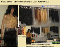 extensões de cabelo em alfornelo