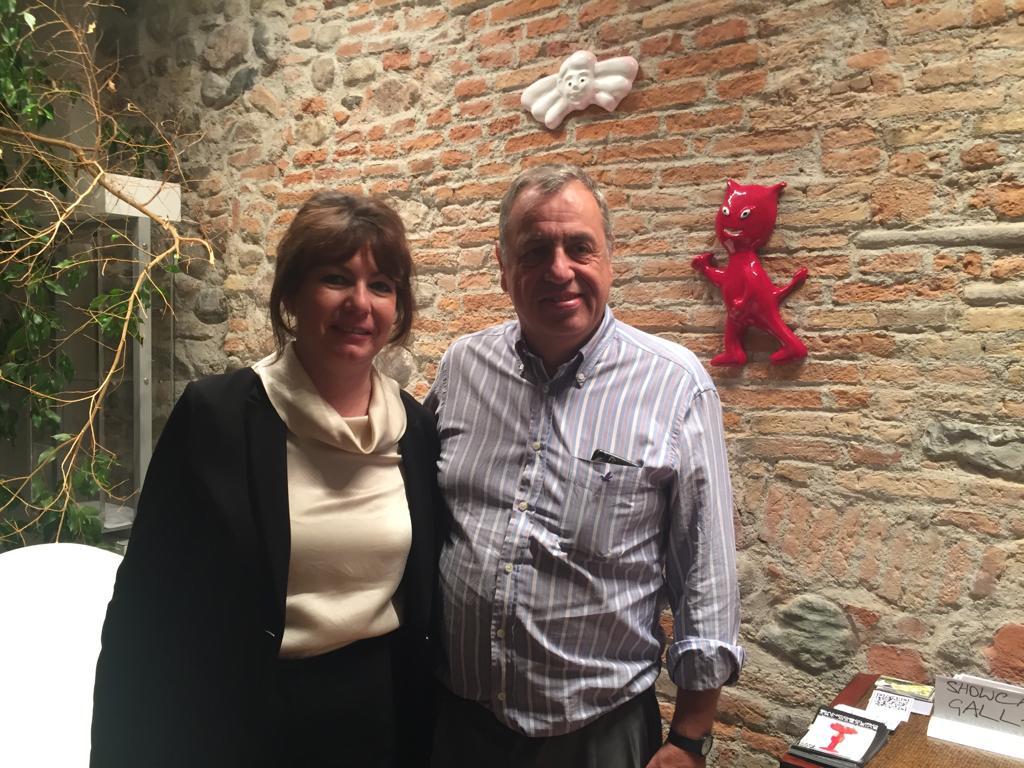 Isabella Rigamonti e Gianni Cella