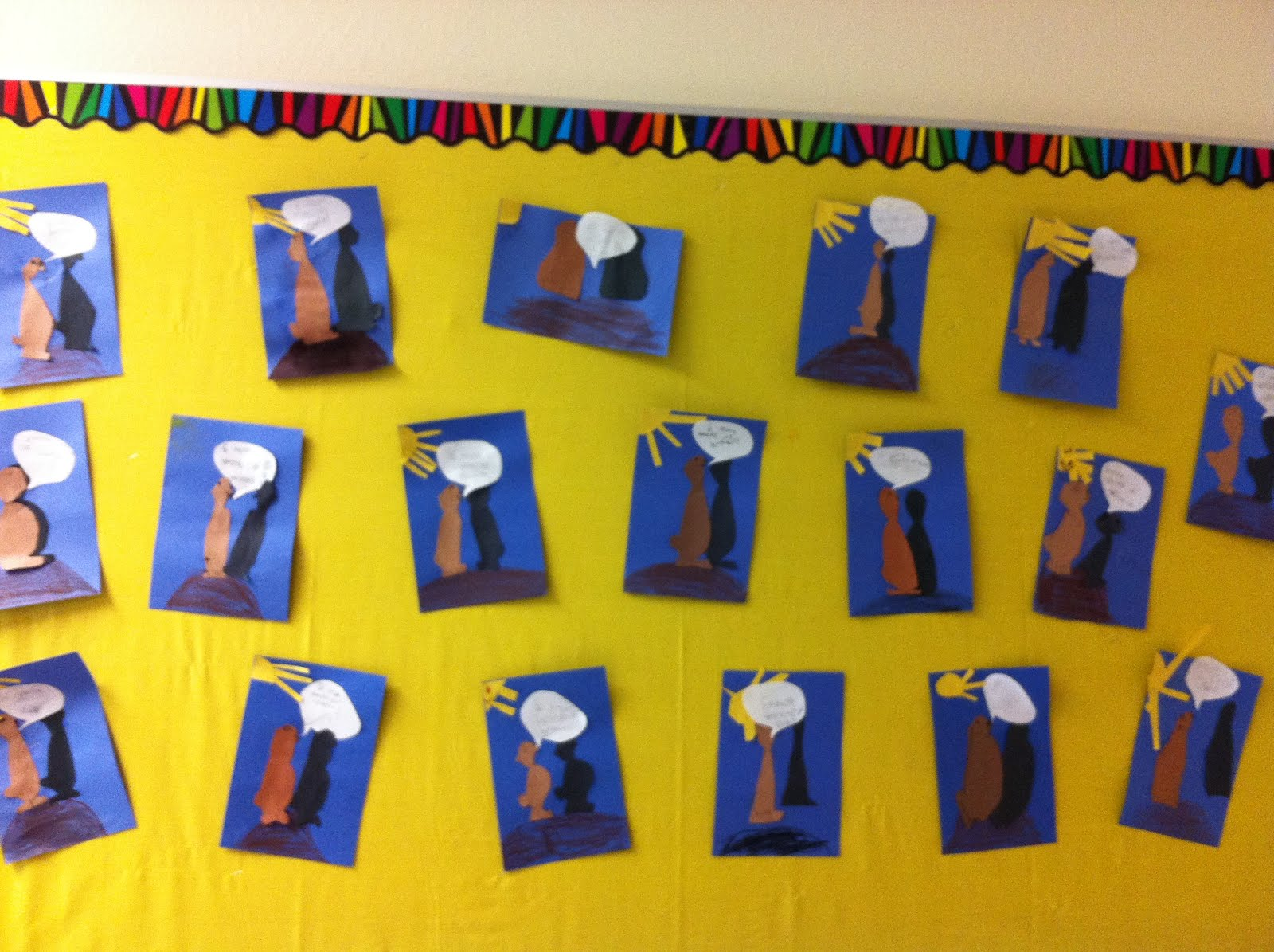 Crayon Bits - a first grade blog: Groundhog Day Shadow Fun
