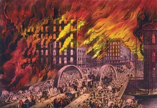 Đám cháy Chicago 1871