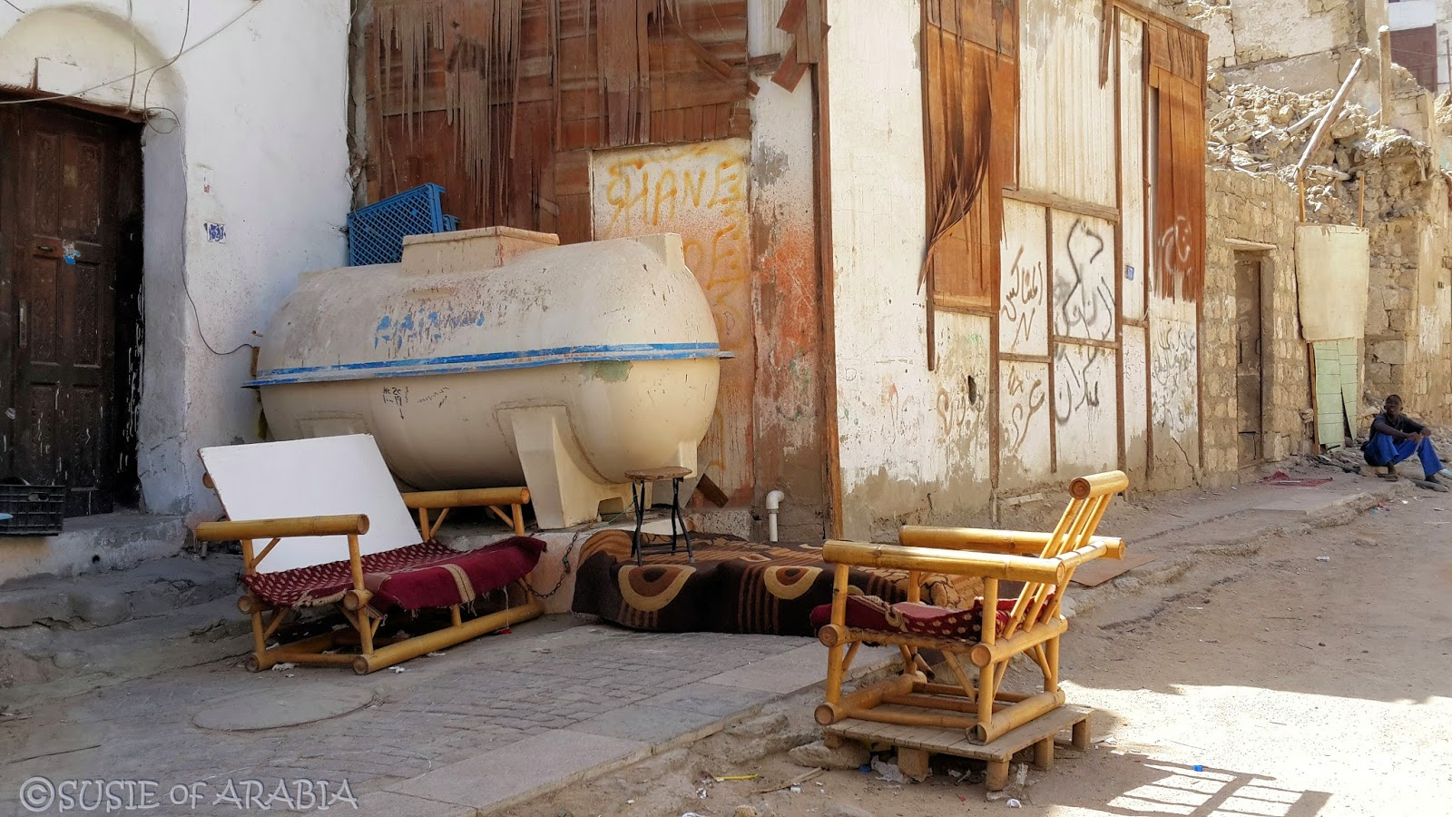 Jeddah Daily Photo Jeddah Seating In Al Balad