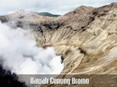 kawah bromo objek wisata gunung Bromo