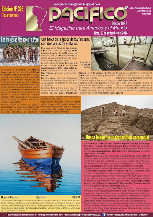 Revista Pacífico Nº 293 Turismo