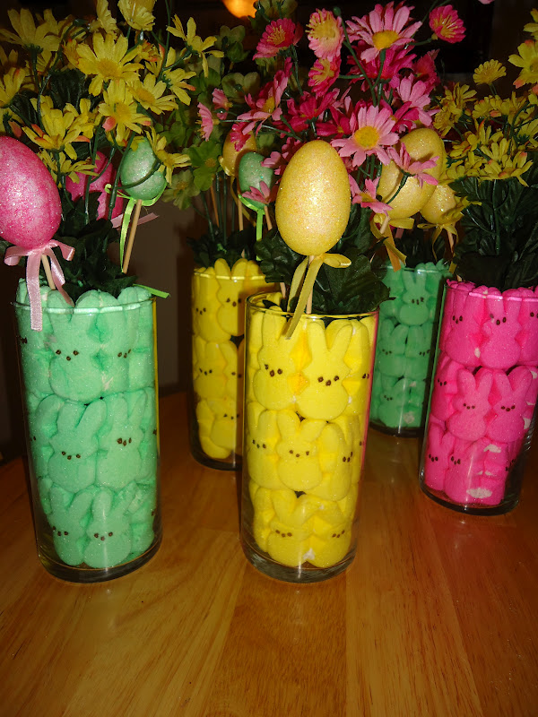 dollar store easter centerpieces - Easter Centerpieces
