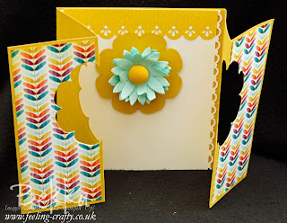 Flower Window Card by Stampin' Up! Demonstrator Bekka Prideaux