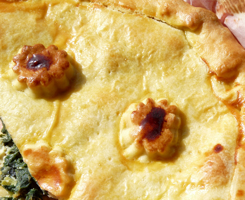 Gourmandise et cuisine tourte aux blettes et roquefort - Cuisine et gourmandise ...