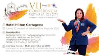 VII Conferencia Rotaria Cartagena 2020