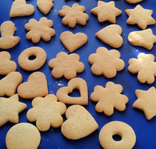 рецепт печенья в формочек