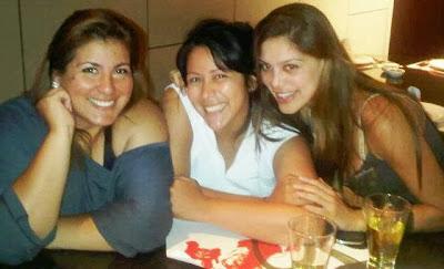 Mónica Torres junto a Magdyel Ugaz y Vanessa Jeri