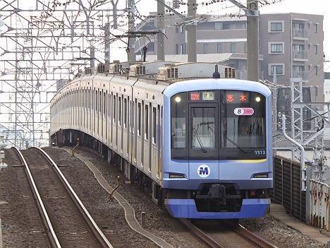 普通 志木行き 横浜高速鉄道Y500系
