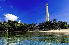 Indahnya Pulau Lengkuas Belitung Dari Atas Mercusuar